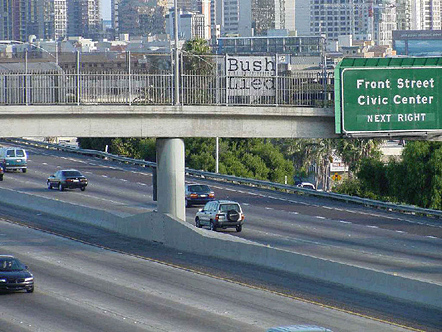 Freeway blogger