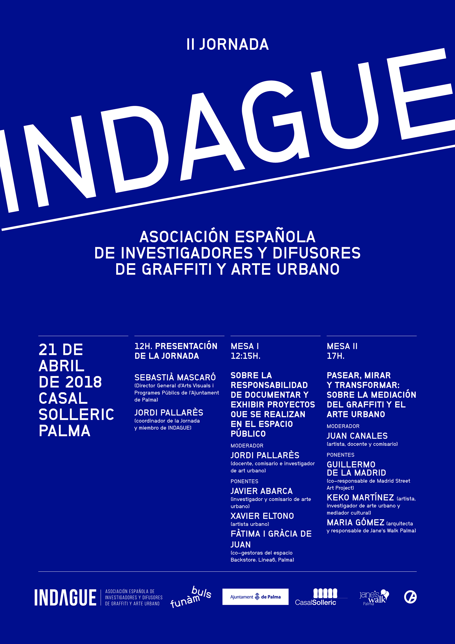 II jornada indague 2018