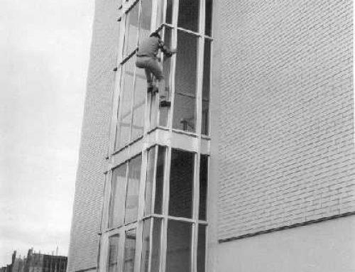 Buildering universitario en los sesenta