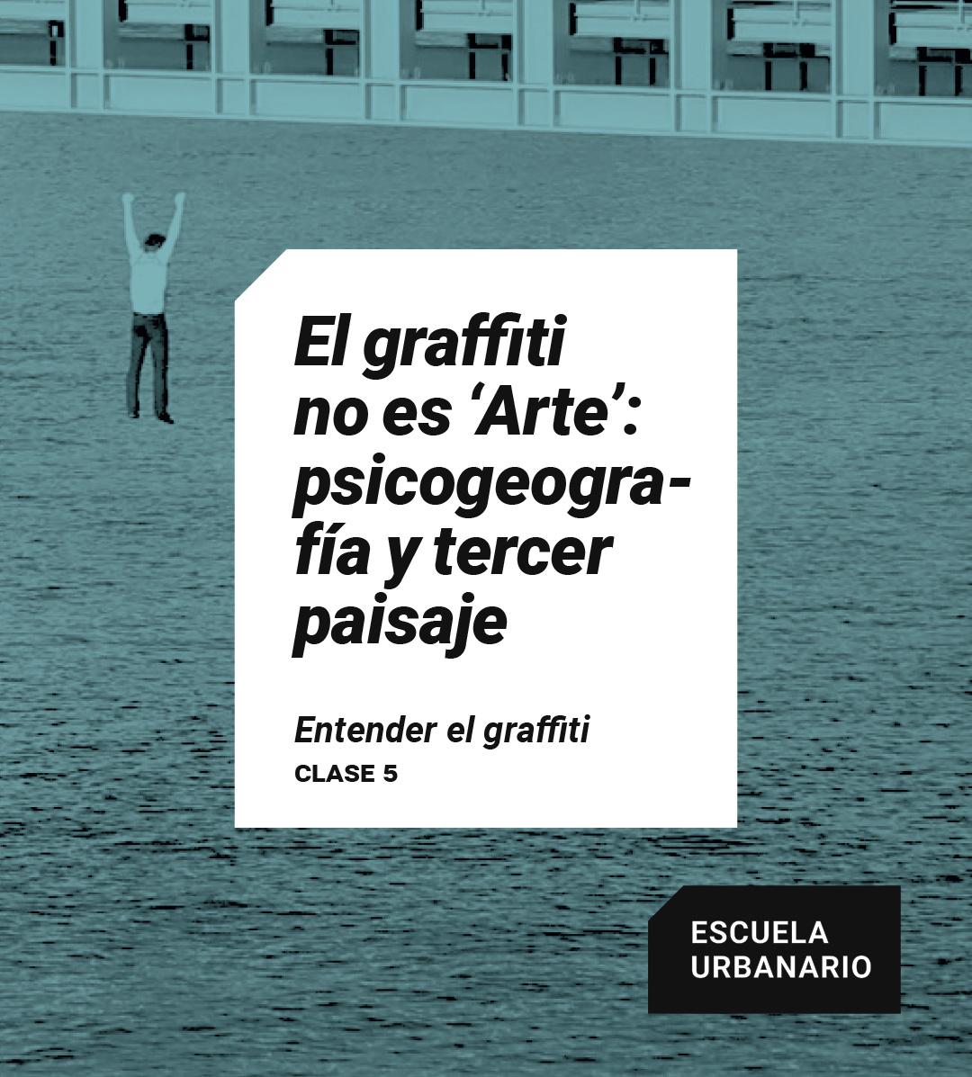 El graffiti no es Arte