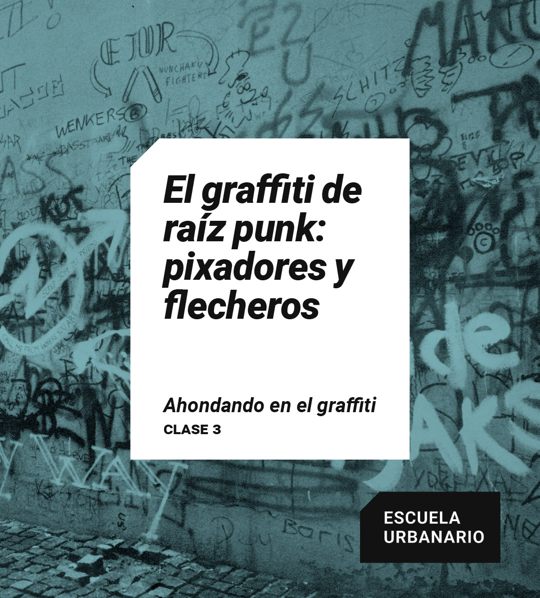 El graffiti de raiz punk