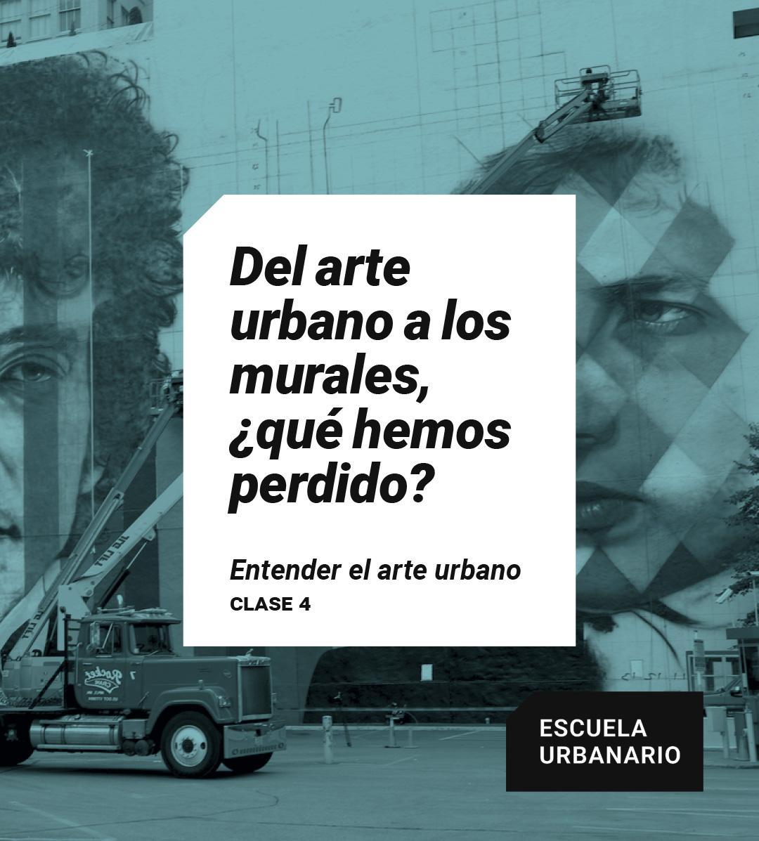 Del arte urbano a los murales