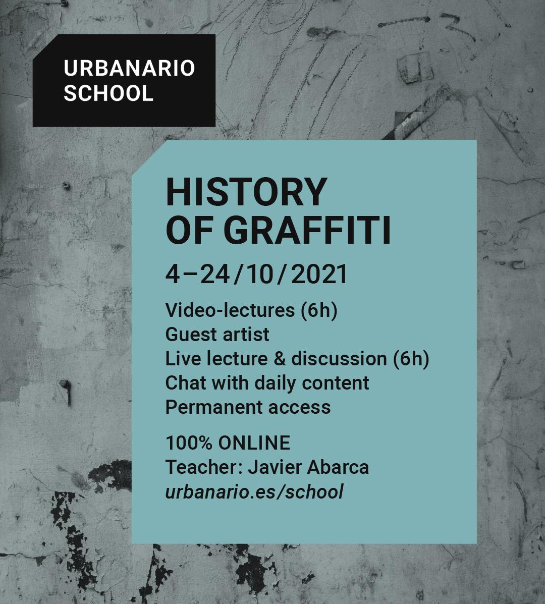 History of graffiti - Urbanario School