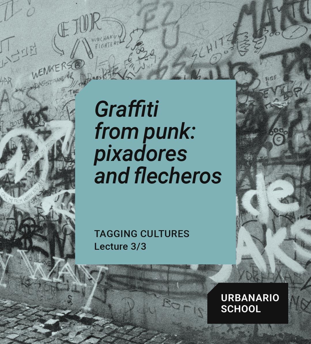 Graffiti from punk - Urbanario School