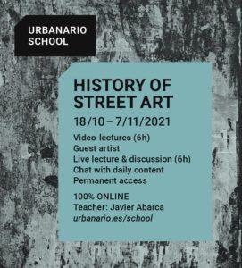 History of street art - Urbanario School