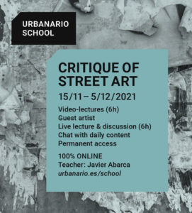 Critique of street art - Urbanario School