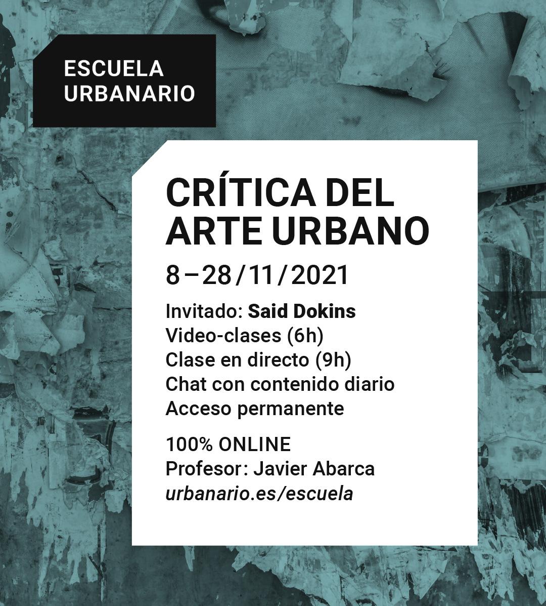 Crítica del arte urbano - Escuela Urbanario