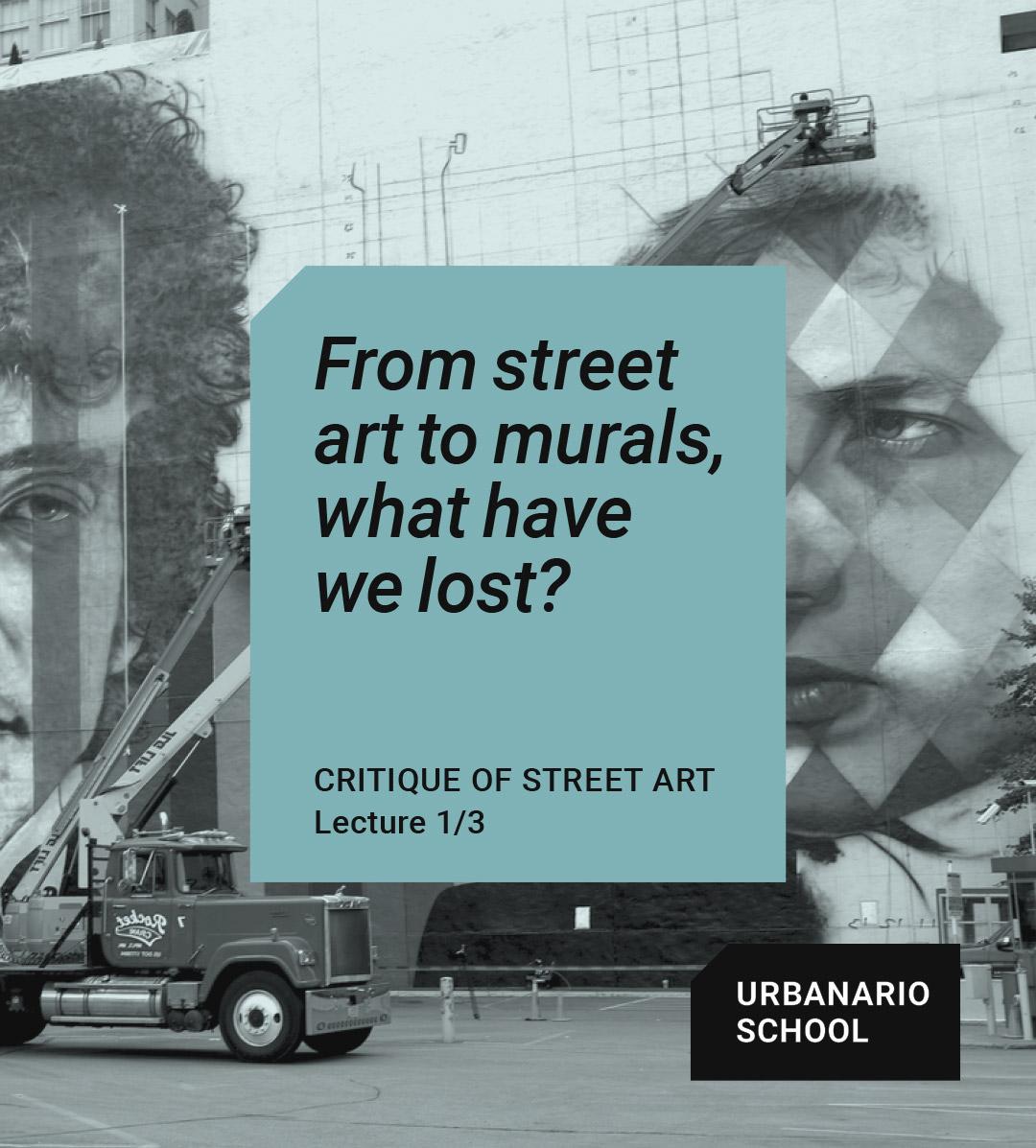 From street art to murals - Urbanario School