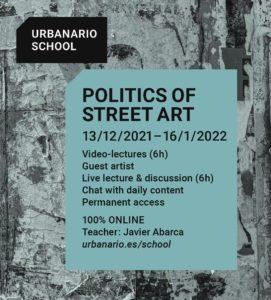Politics of street art - Urbanario School
