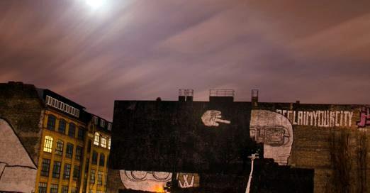 Blus borrados en Kreuzberg