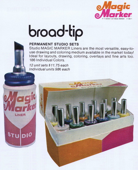 Magic marker vintage ad - searchin4elmarko