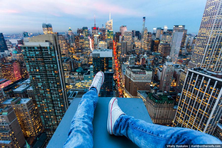 On-the-roofs-en-Nueva-York