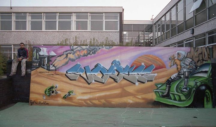 Goldie graffiti 2