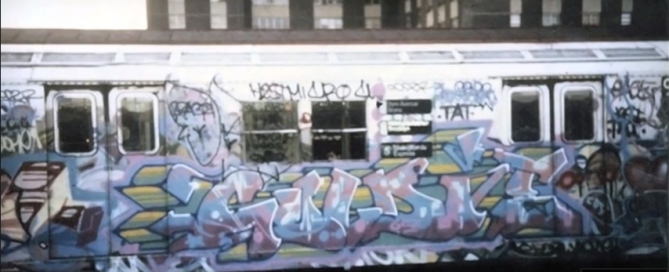 goldie NY subway