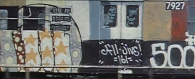 Graffiti de los setenta