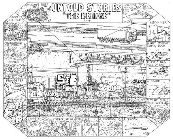 Untold stories the bridge - Loiq 2016