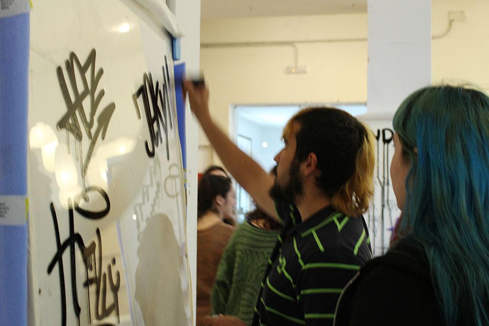 taller graffiti como caligrafia urbanario 2016 10
