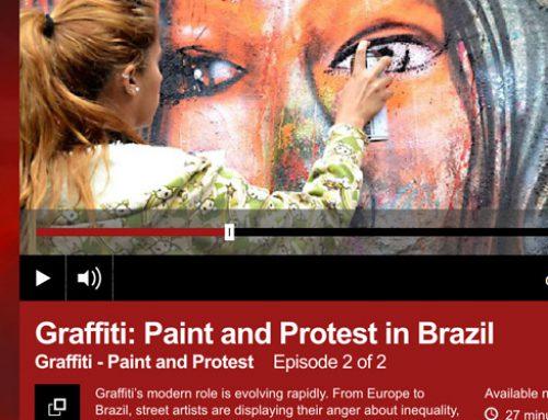Pixação en la radio, y la propiedad privada como vandalismo