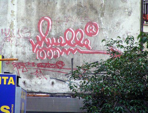 Comienza la restauración de la firma de Muelle en la calle Montera de Madrid