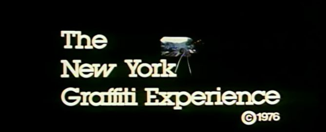 the new york graffiti experience 1976
