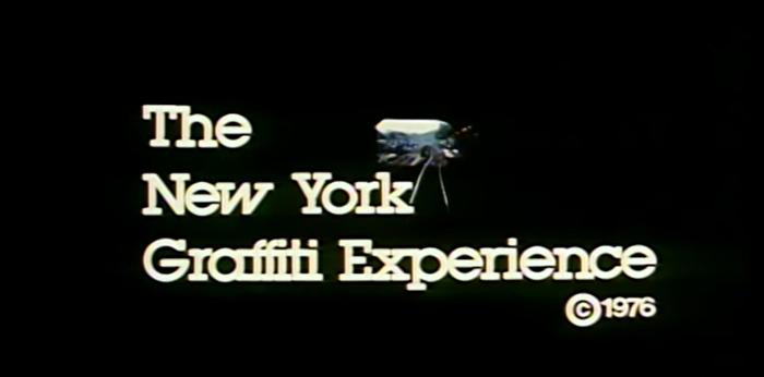 the new york graffiti experience 1976