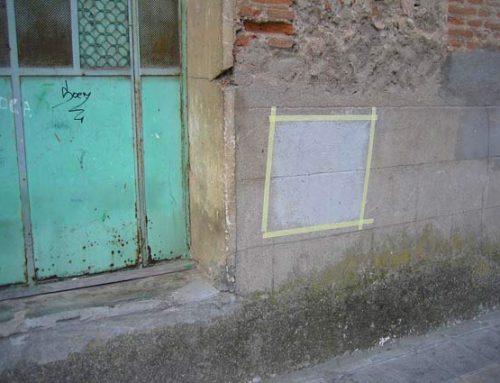 Arte urbano en la universidad: capturando manchas de pintura