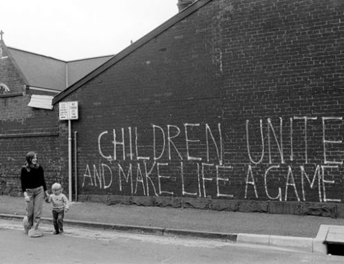 """Australian graffiti"" (1975), fotografías de Rennie Ellis"