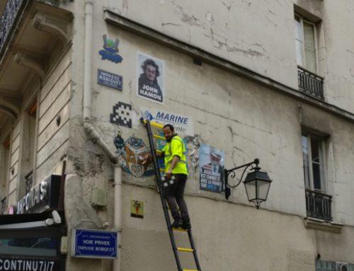 Los ladrones de arte urbano se profesionalizan
