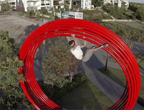 Escalada urbana: vídeo y entrevista con Erin Coates en Buildering.net