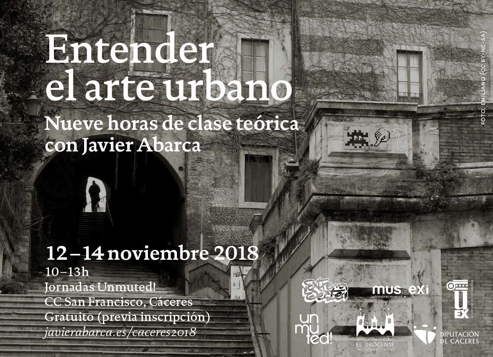 Entender el arte urbano – Unmuted 2018