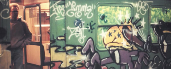 The Rise of Graffiti Writing, From New York To Europe