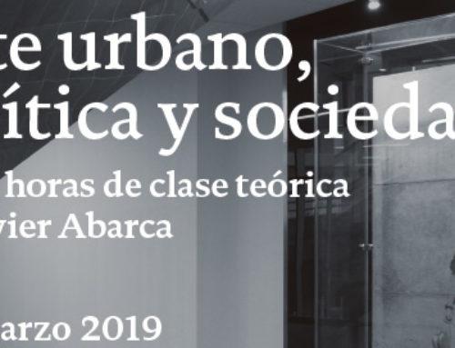 «Arte urbano, política y sociedad»: curso gratuito con Javier Abarca en Madrid