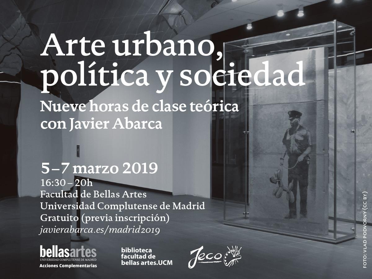 Arte-urbano-politica-y-sociedad - curso con Javier Abarca