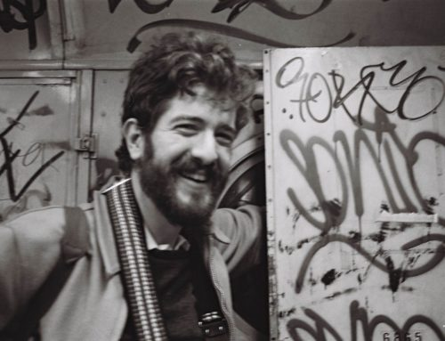 El pionero del estudio del graffiti Craig Castleman visita España
