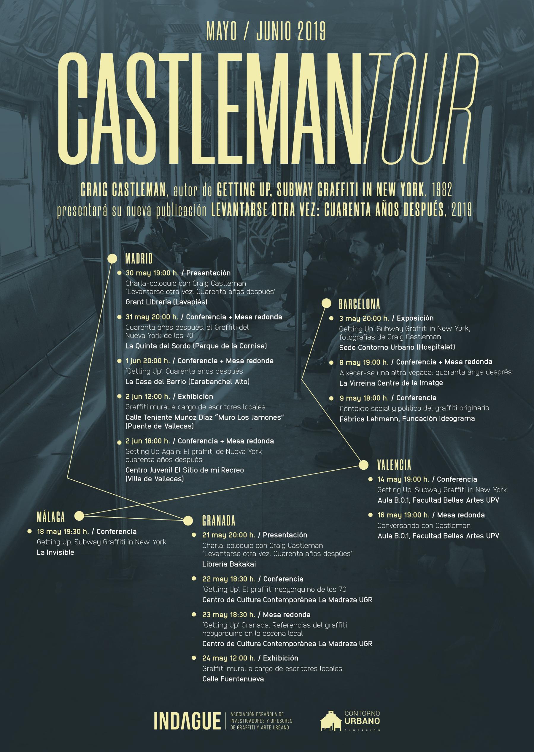 craig castleman en españa 2019