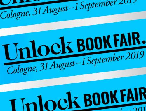 Unlock Book Fair 2019: Colonia, 31 agosto – 1 septiembre