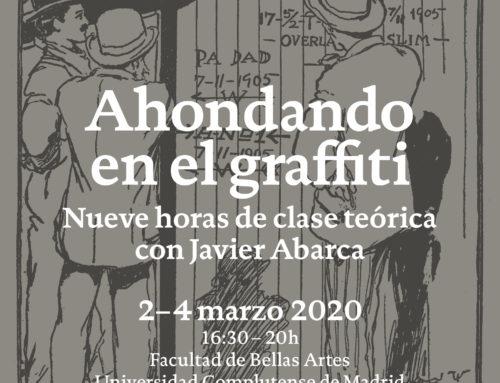 «Ahondando en el graffiti»: curso gratuito con Javier Abarca en Madrid