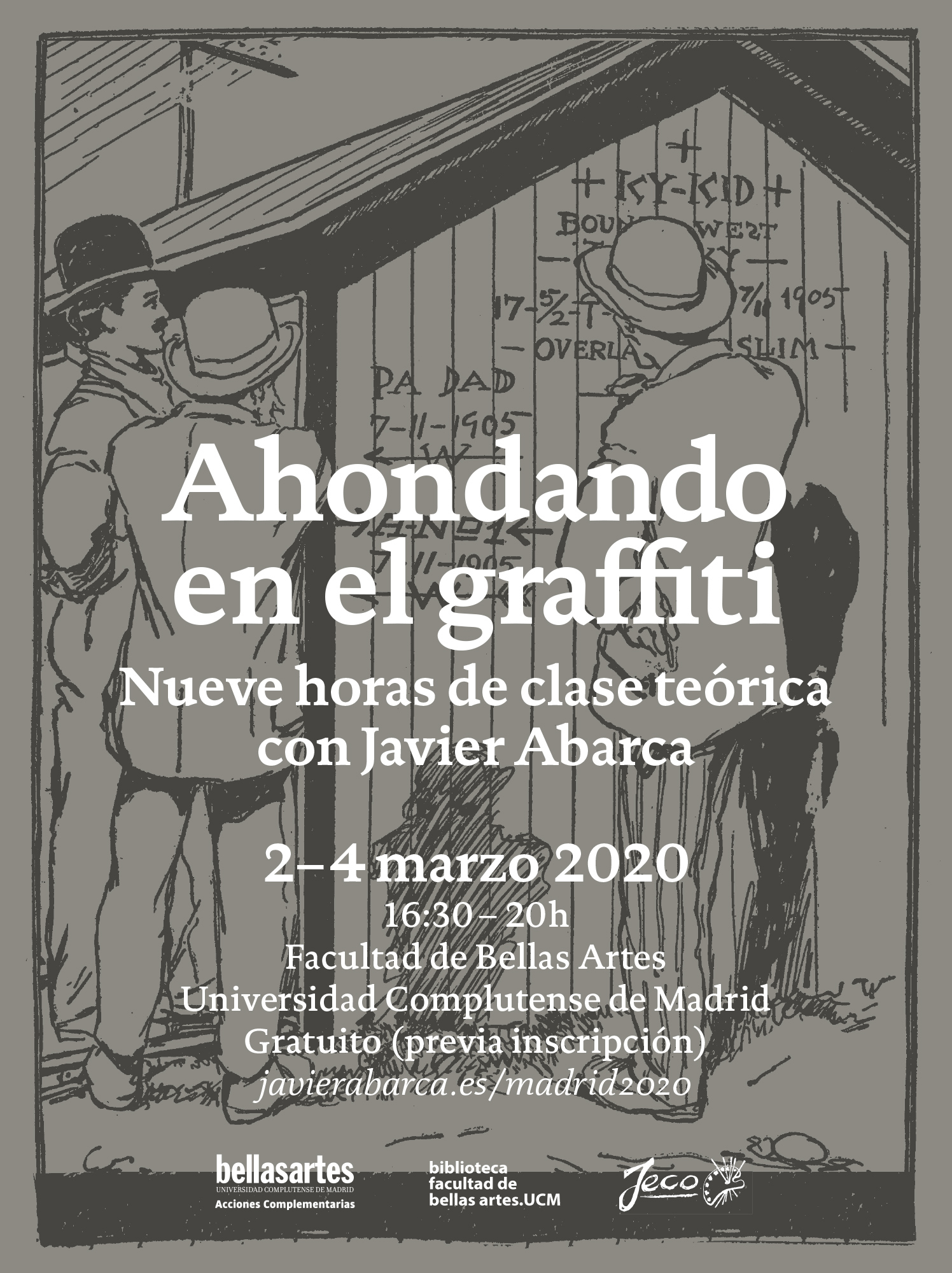 Ahondando en el graffiti – BBAA UCM 2020