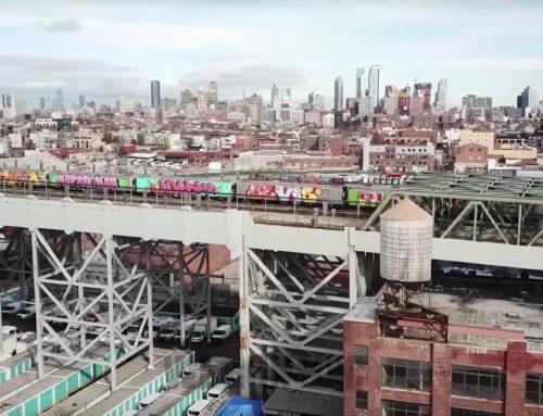 Video: El graffiti vuelve a lo grande al metro de Nueva York